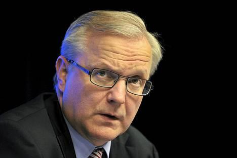 Talouskomissaari Olli Rehn