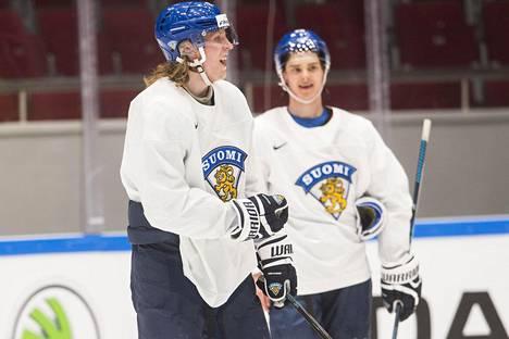 Patrik Laineen ja Sebastian Ahon otteet MM-jäillä ovat vakuuttaneet maajoukkuejohdon.