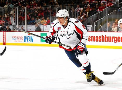 Alexander Ovetškin oli pitelemätön New Jersey Devilsiä vastaan.