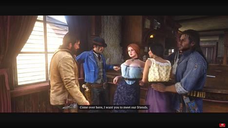 Kohtaus Red Dead Redemption 2 -pelistä.