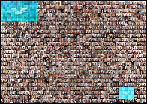 Suomen suurimman virtuaalikuoron videolla laulaa yli tuhat ihmistä. Video julkaistaan lauantaina 18. huhtikuuta iltapäivällä.