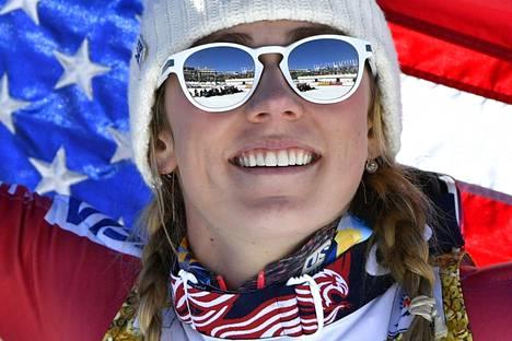 USA:n Mikaela Shiffrin johtaa selvästi alppihiihdon maailmancupia.