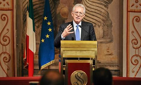 Mario Montin vetämän hallituksen odotetaan vakauttavan Italian taloutta.