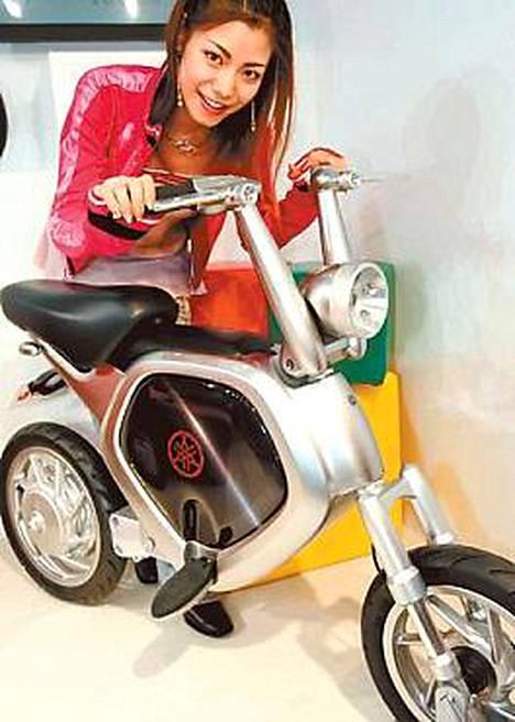 Yamahan moottoripyörät käyvät kaupaksi