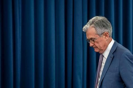 Yhdysvaltain keskuspankin pääjohtaja Jerome Powell.