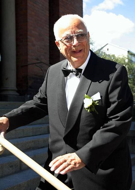 Kenkätehtailija Pertti Palmroth vuonna 2006.