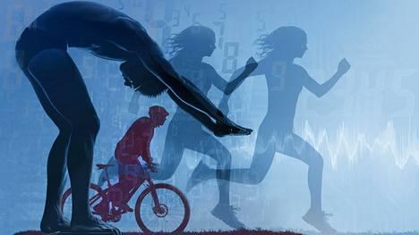 Teknologiasta on hyötyä niille liikkujille, jotka ovat jo valmiiksi motivoituneita.