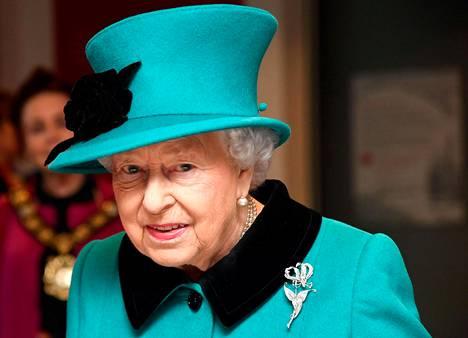 Kuningatar Elisabet joulukuussa 2018.