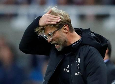 Jürgen Klopp ei ole saanut Liverpoolia kovaan lentoon.