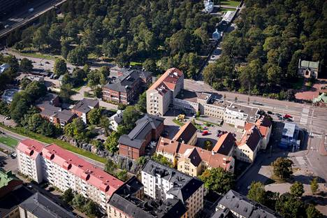 Marian sairaala-alueesta halutaan luoda Pohjois-Euroopan suurin start-up keskittymä.