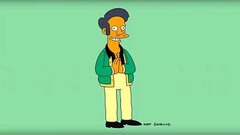 Apu Nahasapeemapetilon esiintyi ensimmäisen kerran Simpsoneissa vuonna 1990.