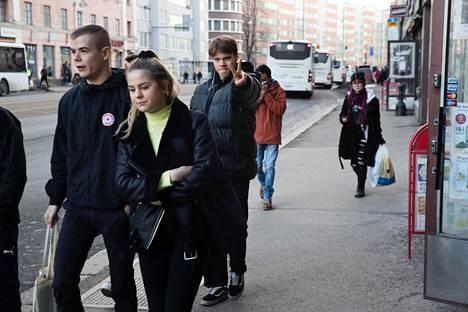 Tulevaisuuden Hämeentiellä jalankulkijat ovat voittajia.