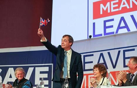 Euroedustaja Nigel Farage varoitti perjantaina Lontoossa, että tulossa voi olla uusi EU-kansanäänestys. Siksi brexitin kannattajien on taas aika koota voimansa.