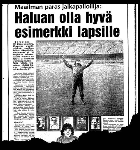 Ilta-Sanomien urheilusivu 27. maaliskuuta 1984.