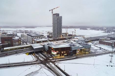 Ensimmäinen SRV:n tornitalo Kalasatamassa valmistuu tänä vuonna hieman myöhässä aikataulusta.