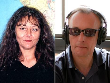 Malissa surmatut ranskalaistoimittajat Ghislaine Dupont ja Claude Verlon.