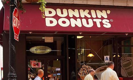 Dunkin' Donutsin kahvila New Yorkissa Yhdysvalloissa.