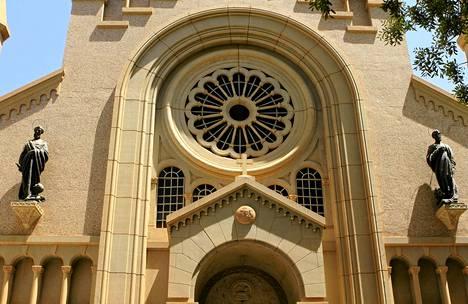 Uskonnonvapaus on kirjattu Sudanin perustuslakiin vuonna 2005. Kuvassa katolinen Pyhän Matthewn katedraali Sudanin pääkaupungissa Khartoumissa.