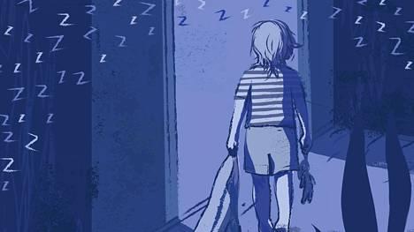 Lapsen unihäiriöt voivat pahimmillaan kuormittaa koko perhettä.