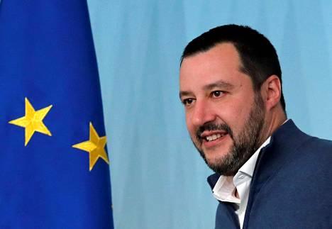 Italian sisäministeri Matteo Salvini.