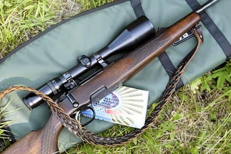 Valtaosa Kainuun aseista on metsästysaseita: haulikoita, kiväärejä tai pienoiskiväärejä.