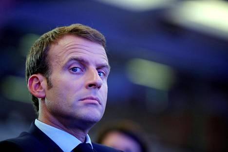 Ranskan presidentti Emmanuel Macron arvostelee tiukasti Yhdysvaltojen metallitulleja EU:lle.