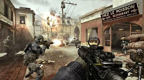 Call of Duty on suosittu sotapeli.