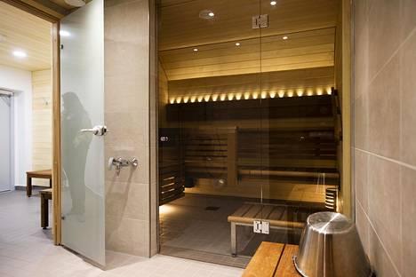 Putkiremontissa uusittiin myös kellarin sauna. Samalla tilasta katosi luonnonvalo.