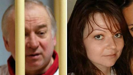 Sergei ja Julija Skripal löydettiin kriittisessä tilassa puistonpenkiltä Britannian Salisburyssa maaliskuun 4. päivänä. Kuvat ovat arkistokuvia.