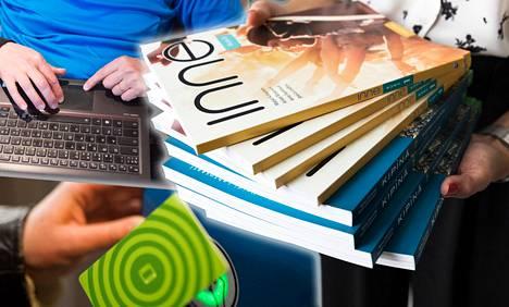 Oppimateriaaleihin, tietokoneisiin ja tutkintomaksuihin kuluisi uusimman laskelman mukaan noin 73 miljoonaa euroa vuodessa.