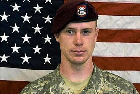 USA:n armeijan kersantti Bowe Berghdal.