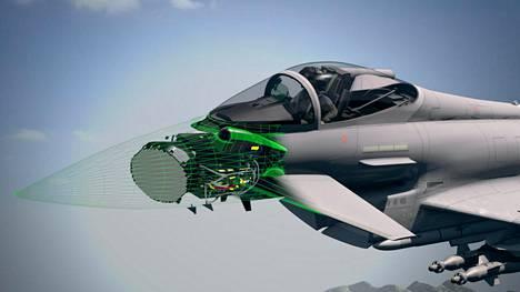 Bae Systems tiedotti juuri pääsiäisen alla, että Suomi pääsee mukaan kehittämään uutta tutkaa, jos Eurofighter valitaan uudeksi hävittäjäksi.