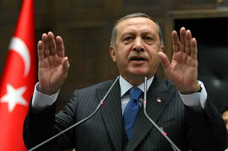 Turkin pääministeri Recep Tayyip Erdogan