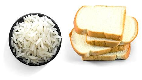 Jos ruokavalio sisältää pääosin hiottua riisiä tai vaaleaa leipää, voi elimistö kärsiä tiamiinin puutoksesta.