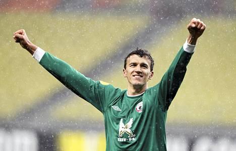 Roman Eremenko tuuletti voittoa Levantesta.