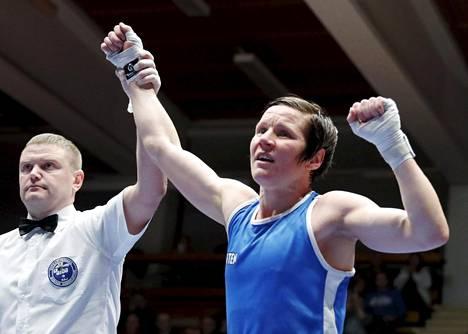 Mira Potkonen on voittanut 33 ottelua peräkkäin.