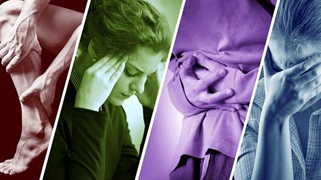 Stressi voi aiheuttaa dramaattisiakin fyysisiä oireita.