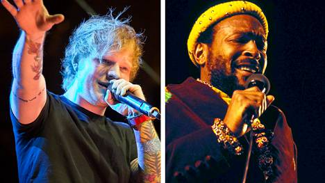 Ed Sheeran ja Marvin Gaye.