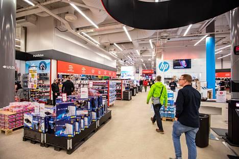Verkkokauppa.com on liikevaihdoltaan Suomen suurin verkkokauppias.