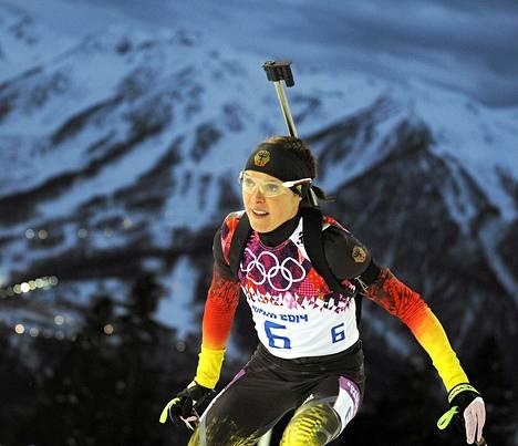 Evi Sachenbacher-Stehle lopetti uransa dopingkäryyn.