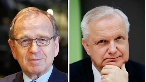 Euroopan keskuspankin johtoon saattaa ensi vuonna nousta Erkki Liikanen tai Olli Rehn.