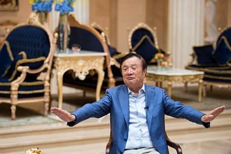Huawein perustajan Ren Zhengfein mielestä Huawei on maailman avoimimpiin lukeutuva yhtiö.