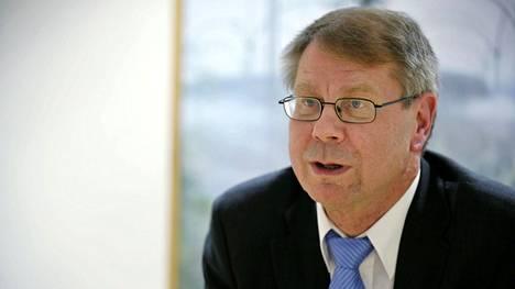 Vasemmistoliiton ex-kansanedustaja Jaakko Laakso.