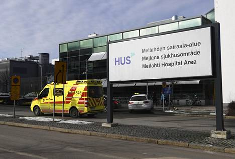 Husin Meilahden sairaala-alue Helsingissä.