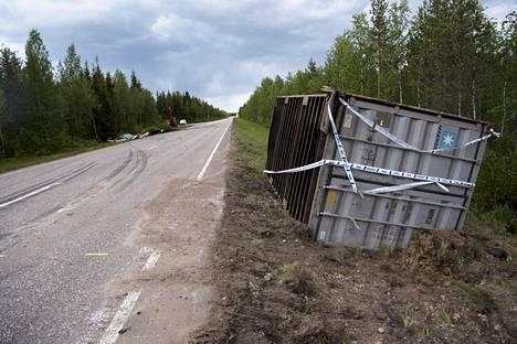 Kaksi lasta kuoli liikenneonnettomuudessa Lapin Kolarissa 11. kesäkuuta.