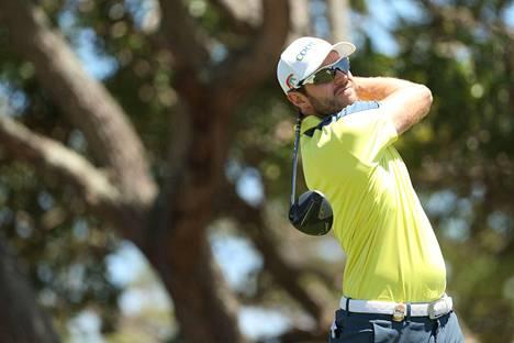 Kalle Samooja jakoi kierroksensa jälkeen kärkipaikan Euroopan-kiertueen kilpailussa Göteborgissa. Lopulta hän sijoittui avauspäivänä jaetulle kolmannelle sijalle. Kuva toukokuun lopulta PGA Championshipistä.