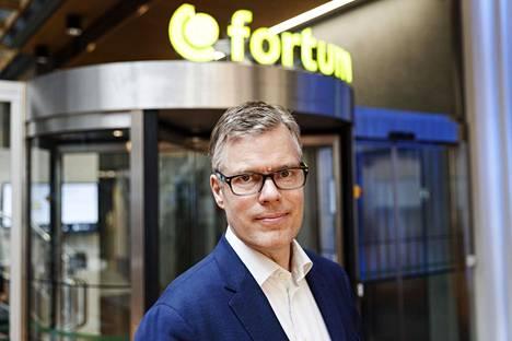 Pitkään Fortumin johtotehtävissä työskennellyt Markus Rauramo nousi viime kesänä yhtiön toimitusjohtajaksi.