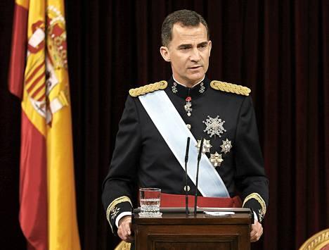 Espanjan kuningas Felipe