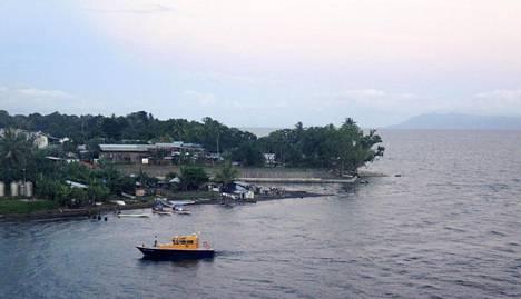 Näkymä Alotaun kaupungin satamasta.