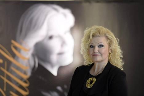 Oopperalaulaja Karita Mattila Helsingissä huhtikuussa 2016.
